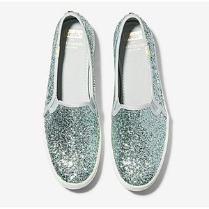 Keds x kate spade Triple Decker Glitter Sneakers